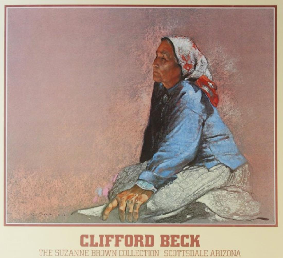 Signed Clifford Beck Exhibition