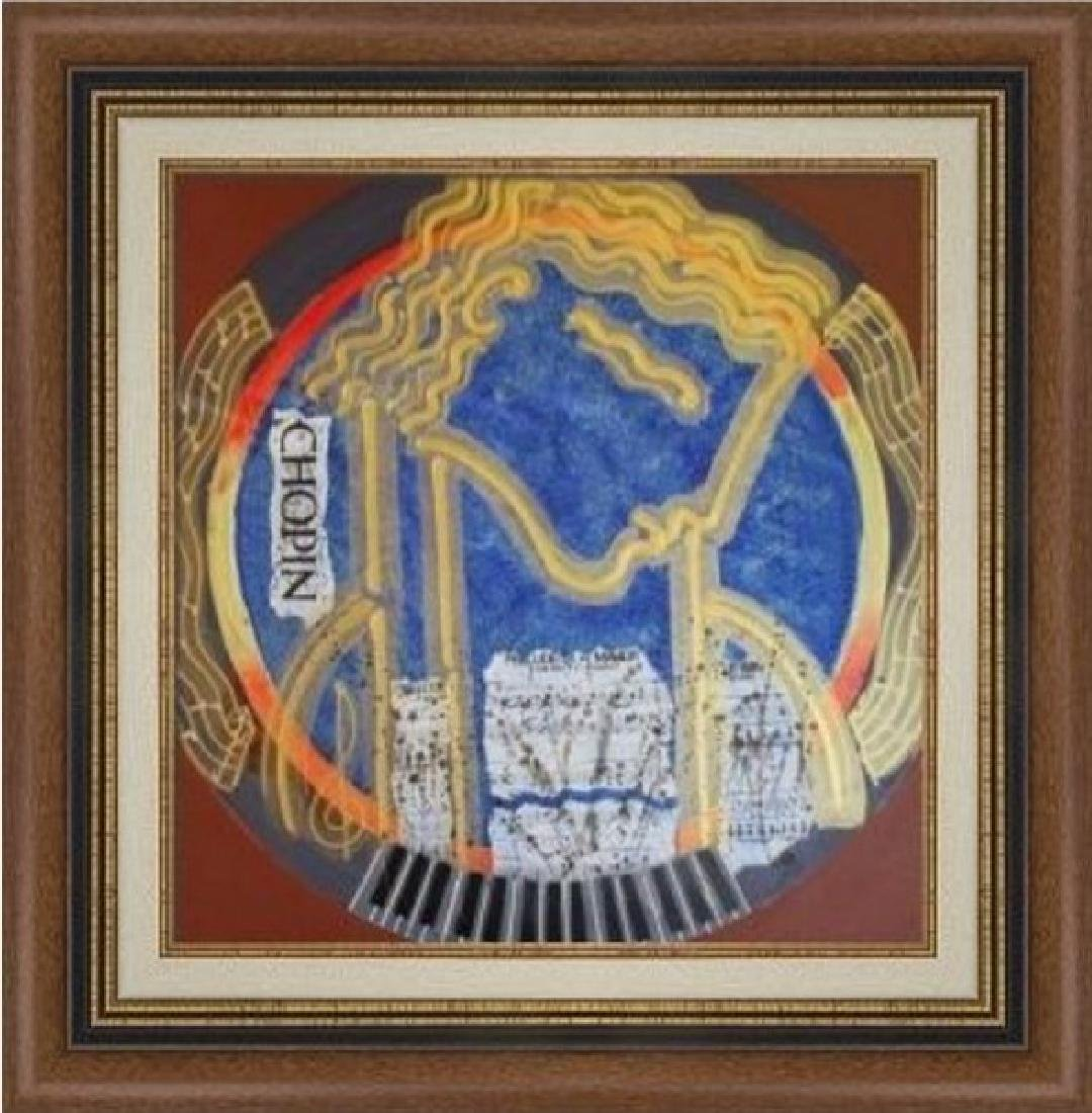 Chopin - Original Painting by Gaylord