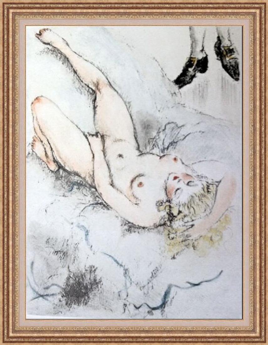 Original Etching Louis Icart - My Pleasure