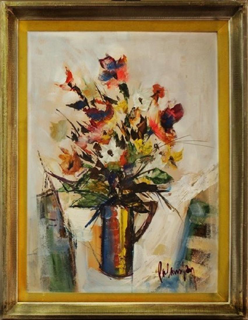 Still Life With Vase - Palasky