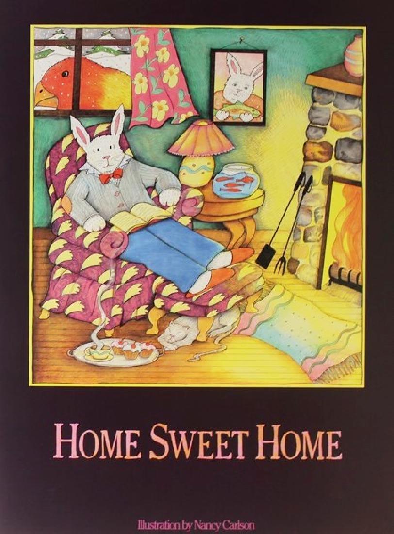 Fine Art Print Nancy Carlson - Home Sweet Home