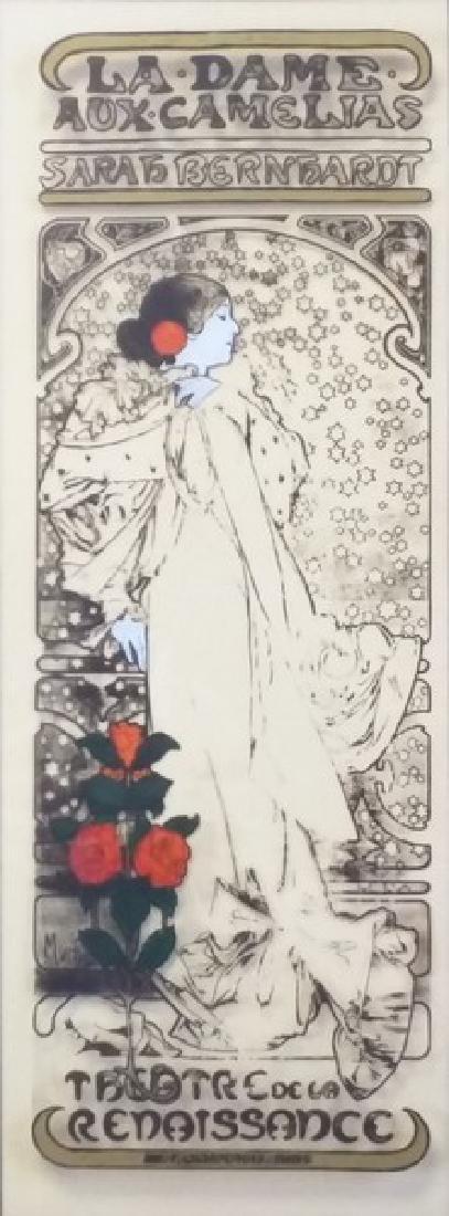 Stained Glass Art - Alphonse Mucha