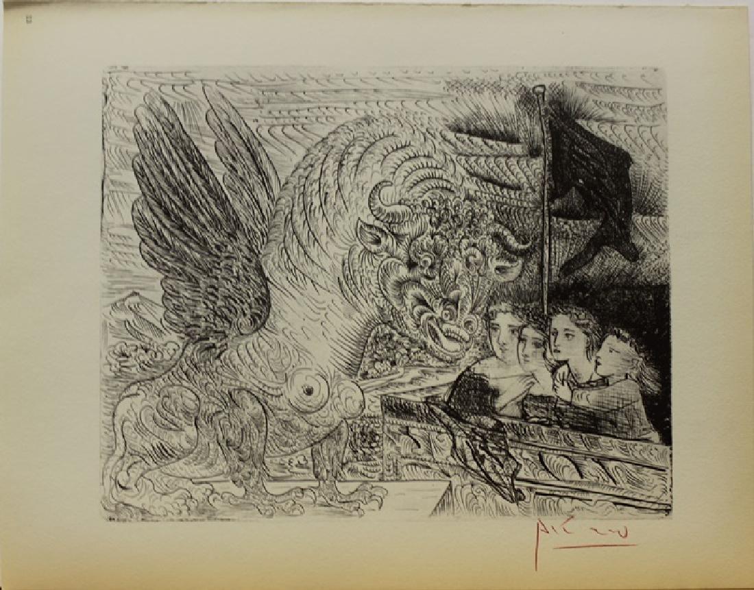 Signed Pablo Picasso Vollard Suite Lithograph - 2