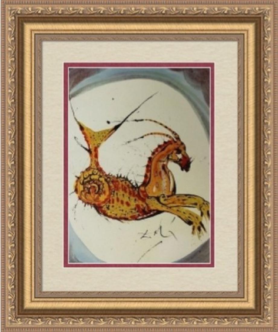 Capricorn, Zodiac Suite - Salvador Dali
