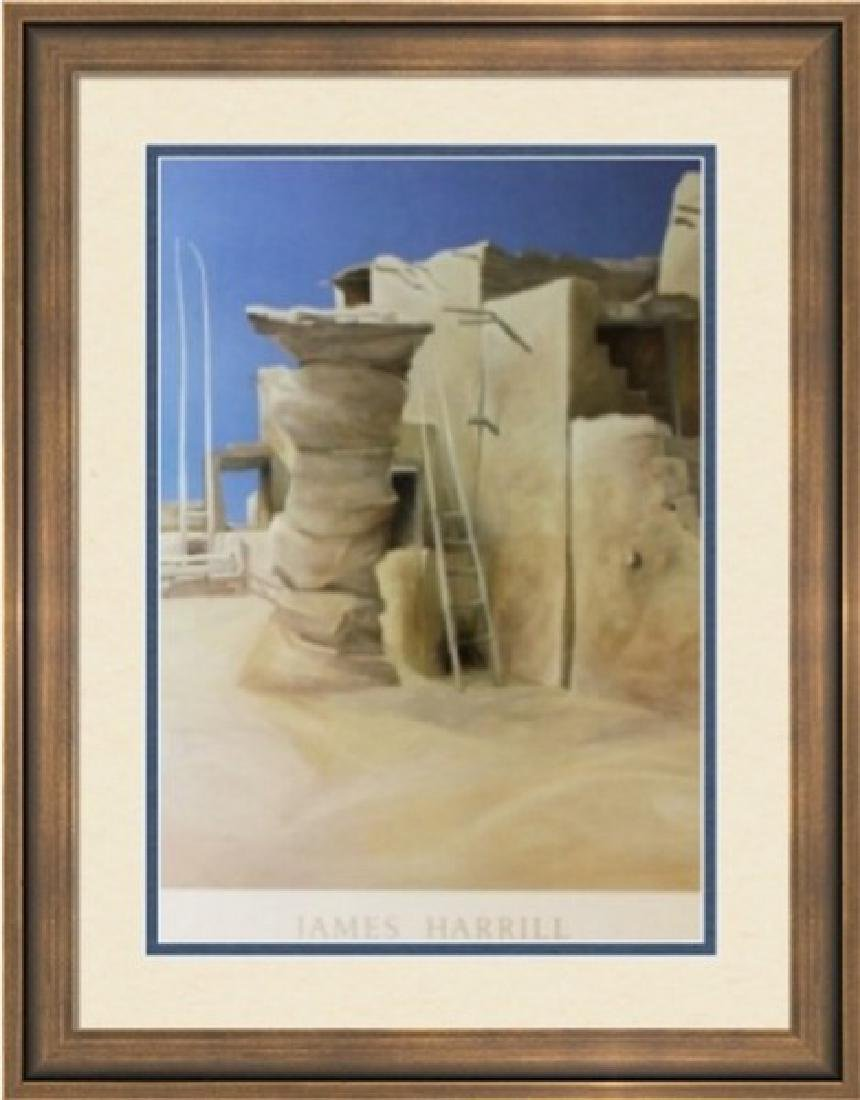 Fine Art Lithograph by James Harrill