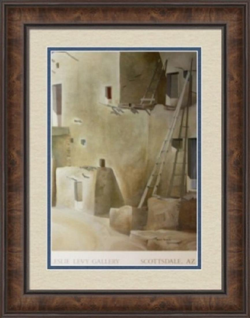 Signed Lithograph by James Harrill