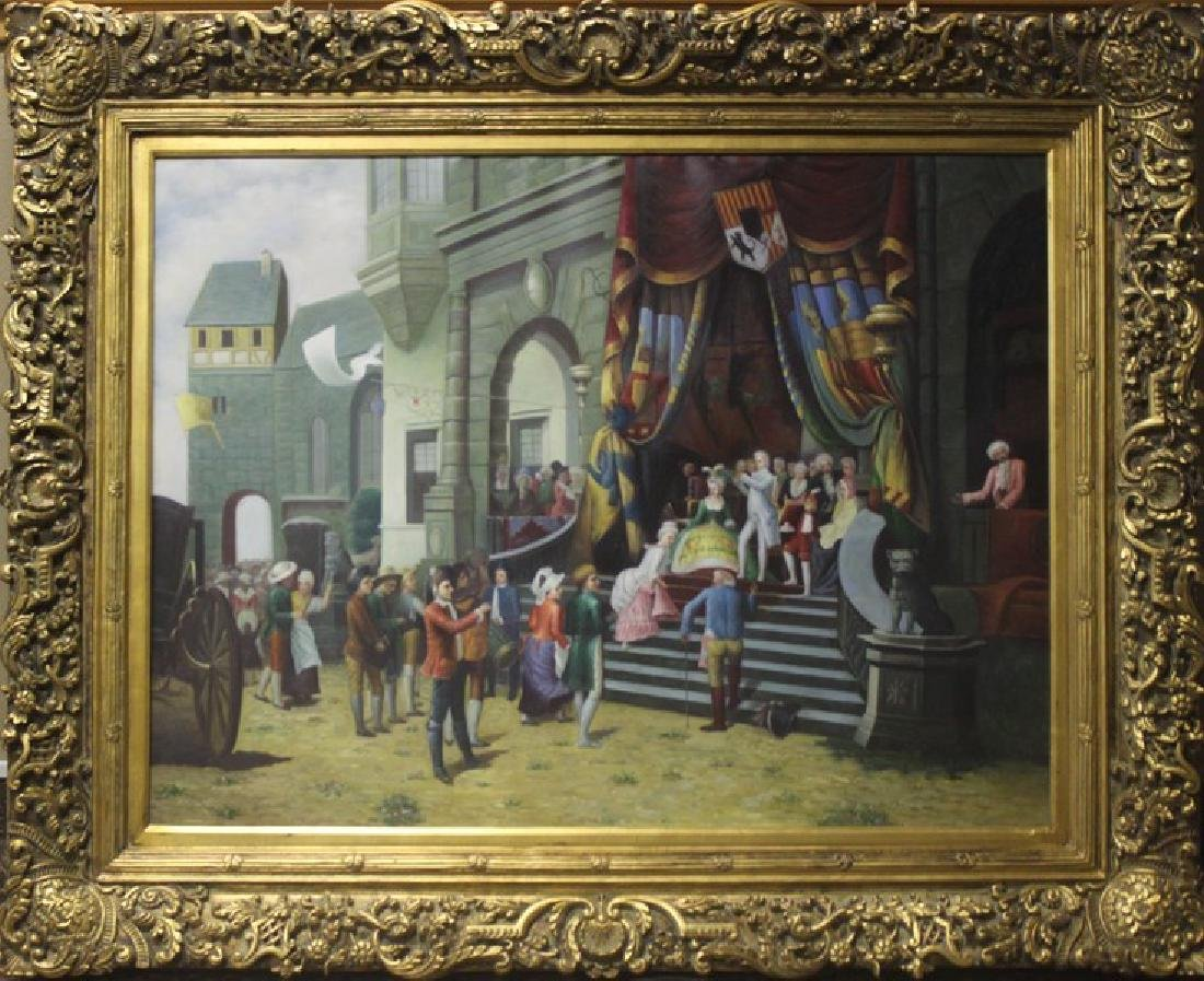 The Theatre - Original Painting