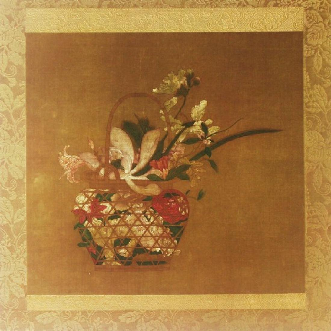 Fine Art Silkscreen Ming Dynasty