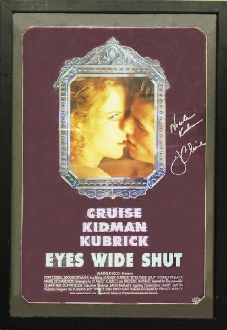 Eyes Wide Shut - Signed Poster