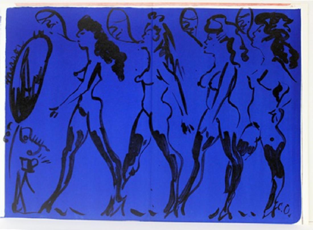 Original Lithograph Enrico Baj