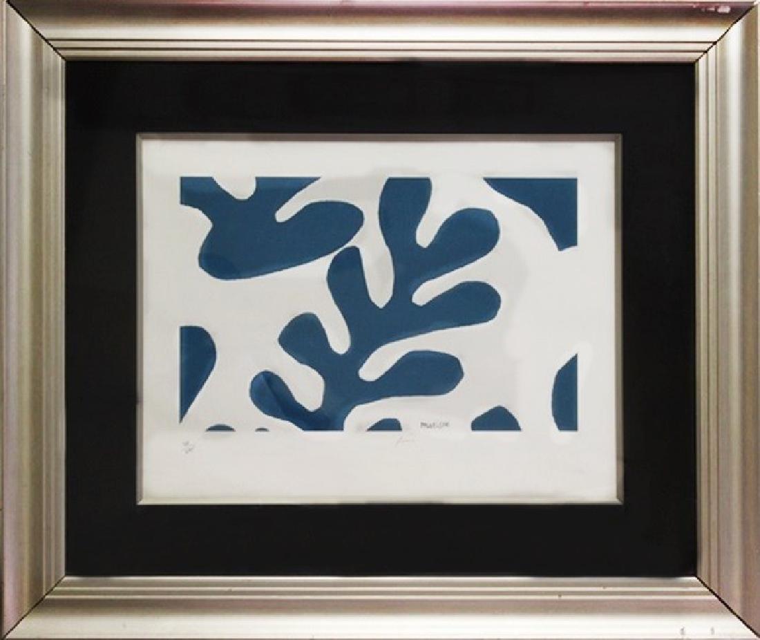 Henri Matisse Lithograph 35x41