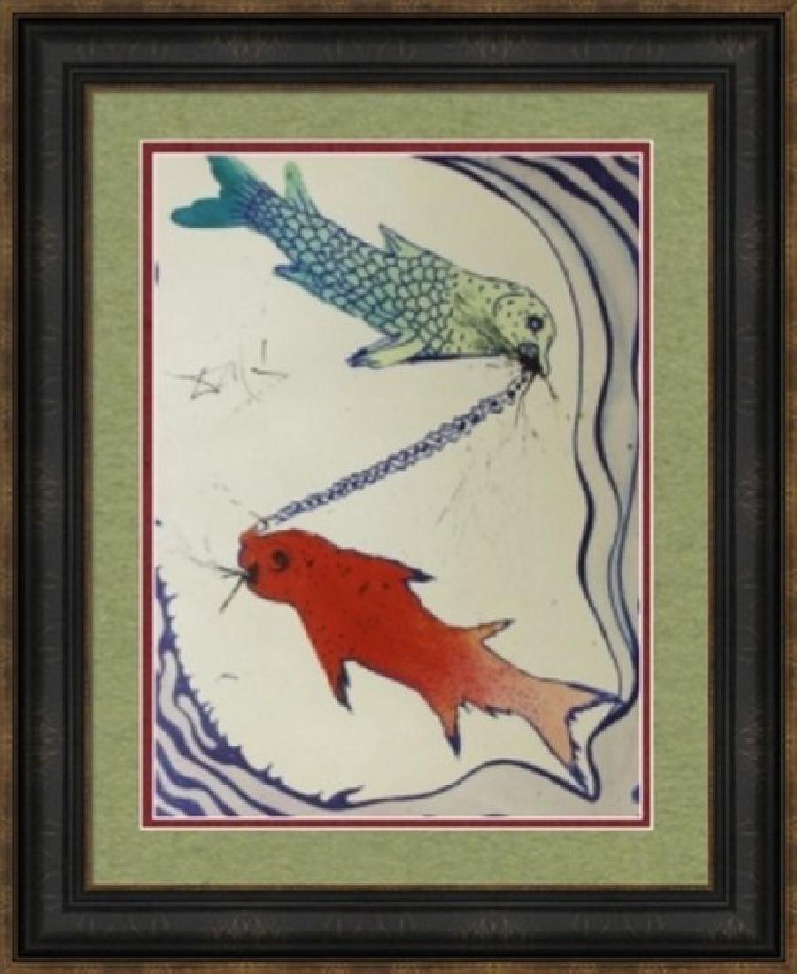 Pisces, Zodiac Suite - Salvador Dali