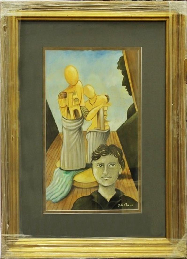 Oil Painting - Giorgio de Chirico