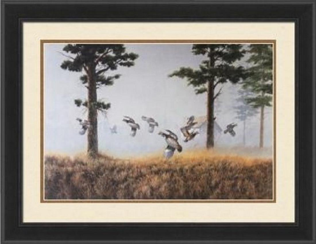 Hand Signed Ltd Ed Lithograph Phillip Crowe