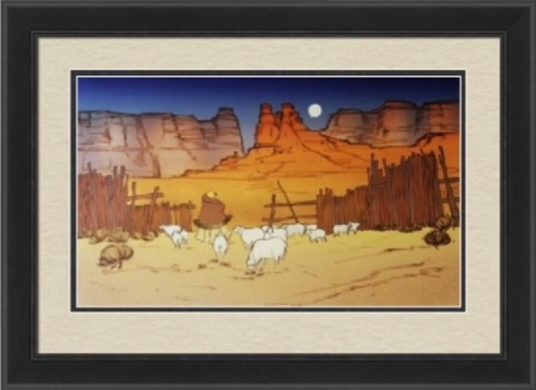 Serigraph Peak - Navajo Twilight