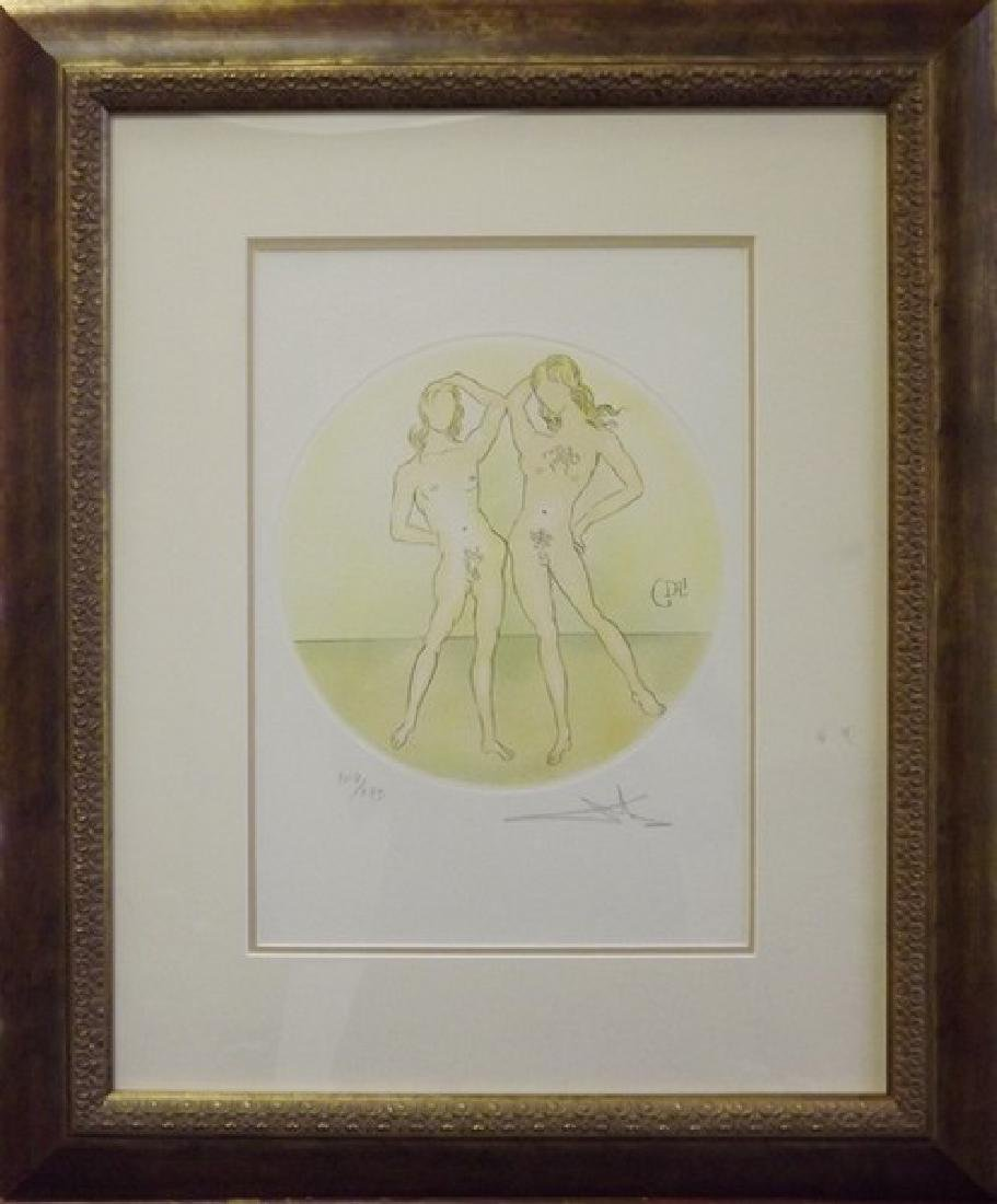 Gemini - Salvador Dali Original Lithograph