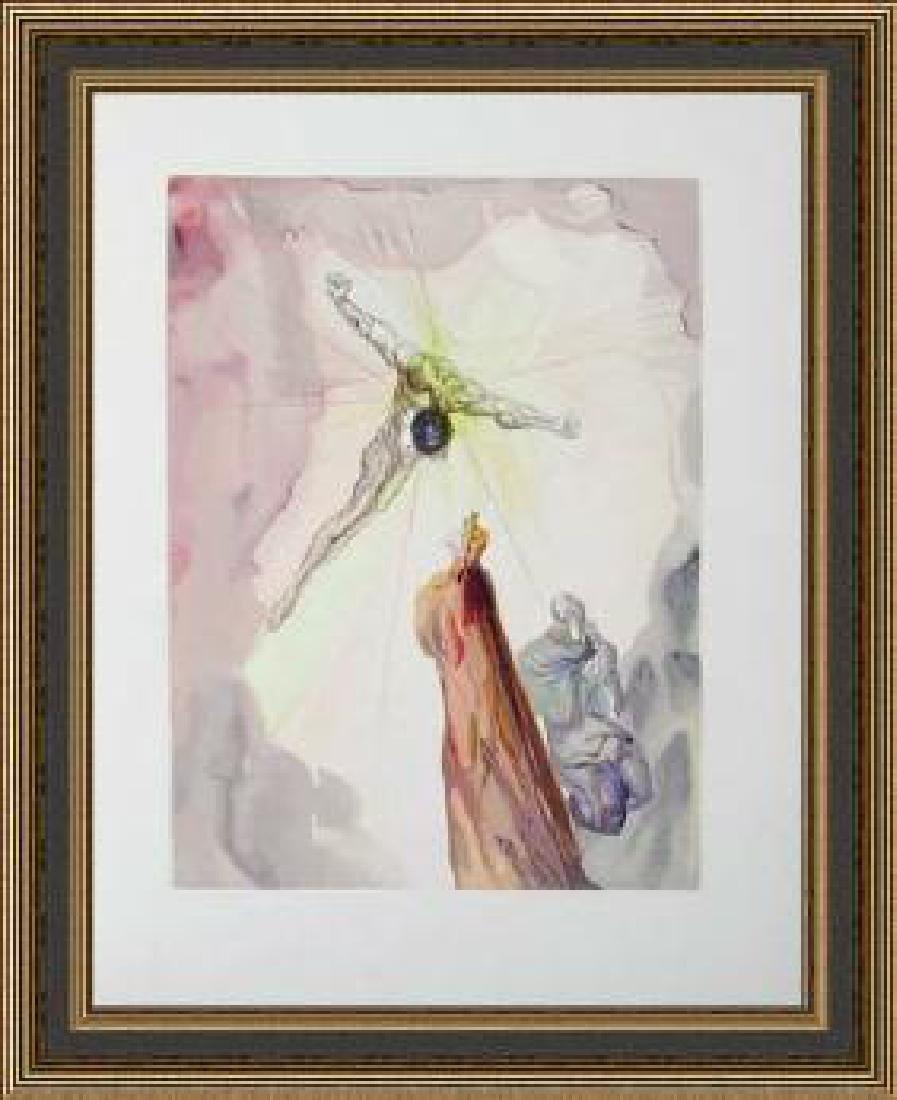 Salvador Dali Woodblock - The Cross of Mars