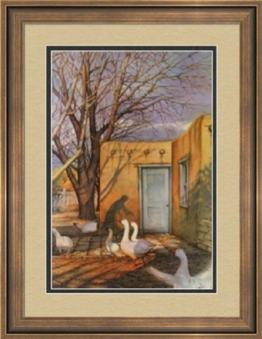 Hand Signed Ltd Ed Lithograph Jimmy Dyer