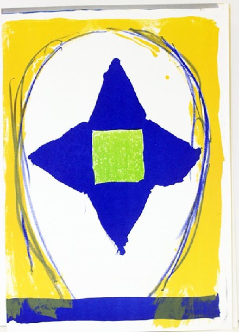 Original Lithograph Kimber Smith