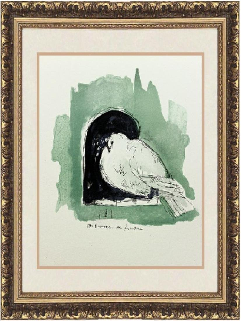 Original Signed Lithograph by Dunoyer De Segonzac