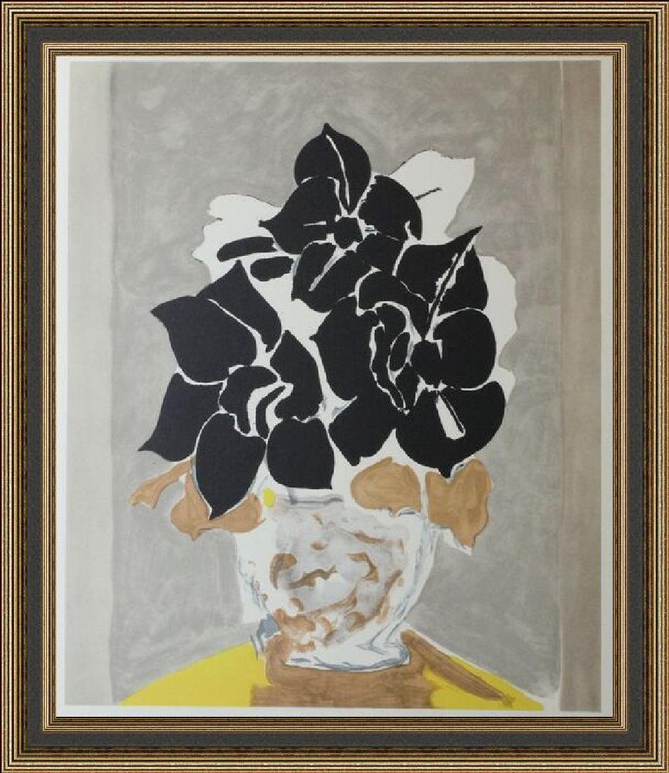Lithograph Georges Braque -  Amaryllis, 1958'
