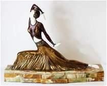 Clara - Sculpture After D.H. Chiparus