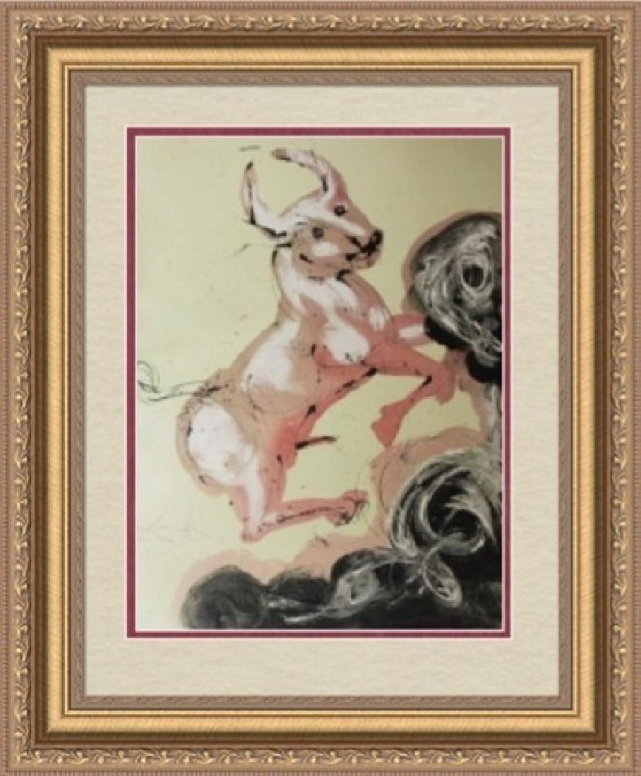 Taurus, Zodiac Suite - Salvador Dali