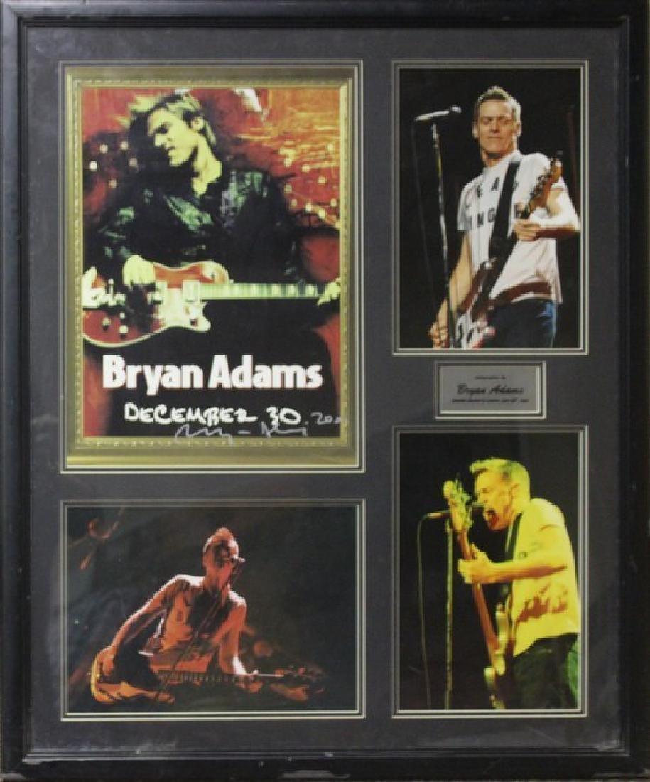 Bryan Adam Autographed Memorabilia