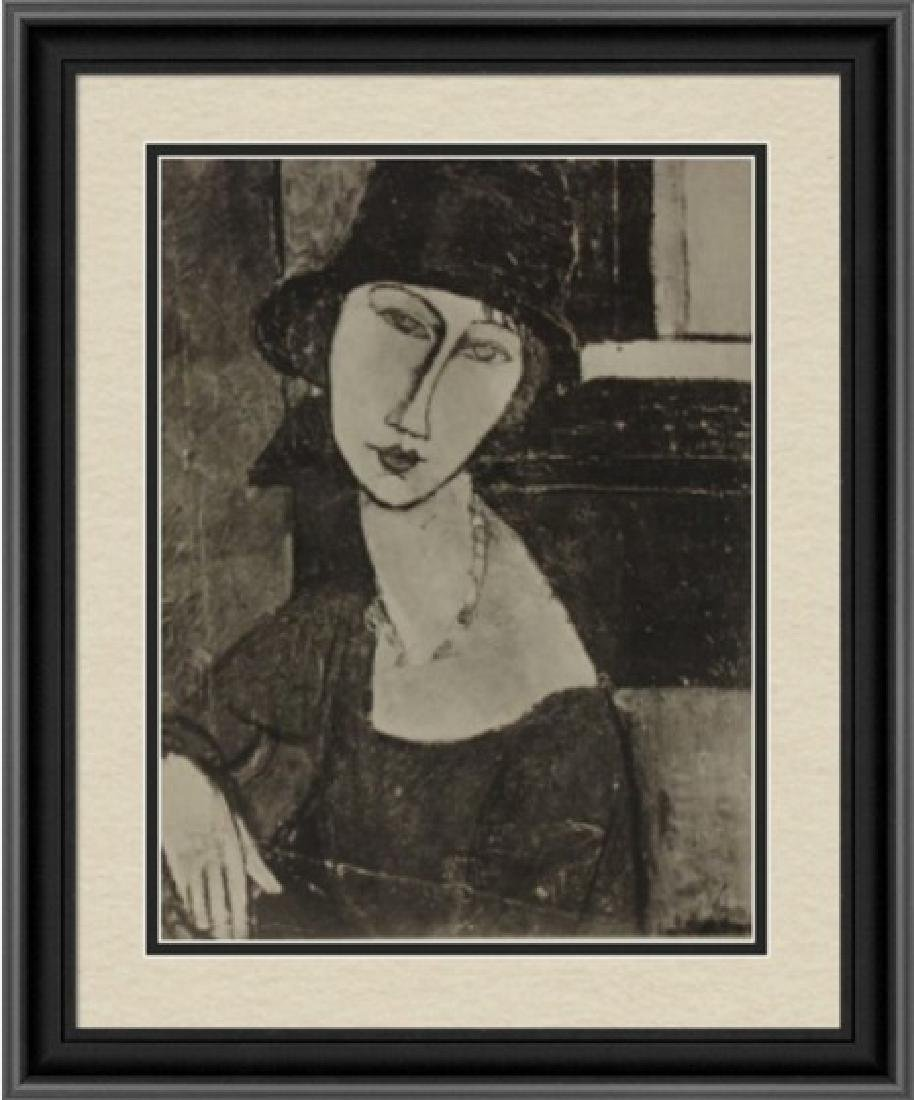 Beautiful Lithograph by Amedeo Modigliani