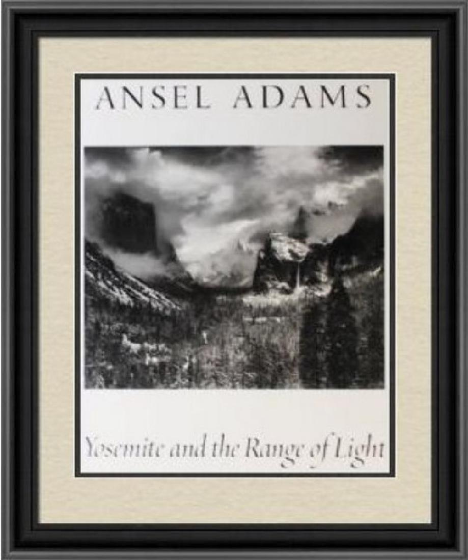 Fine Art Print Ansel Adams - Yosemite The Range of