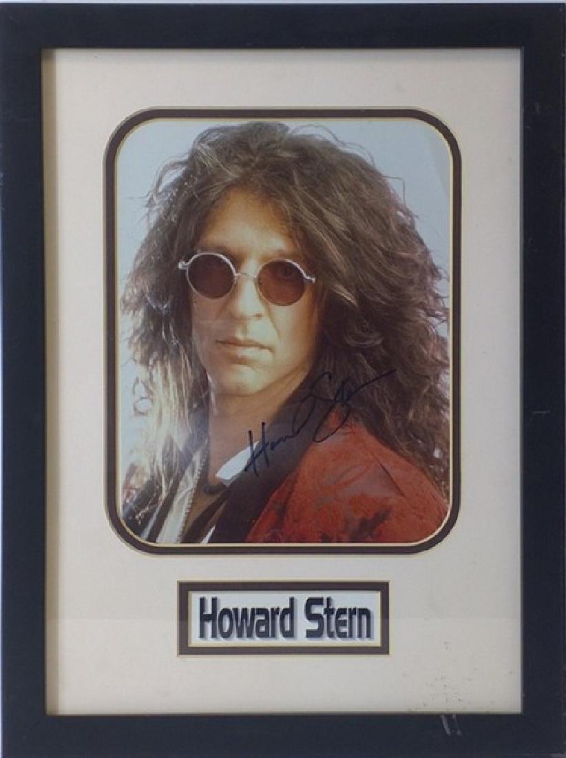 Howard Stern - Genuine Signed Photo