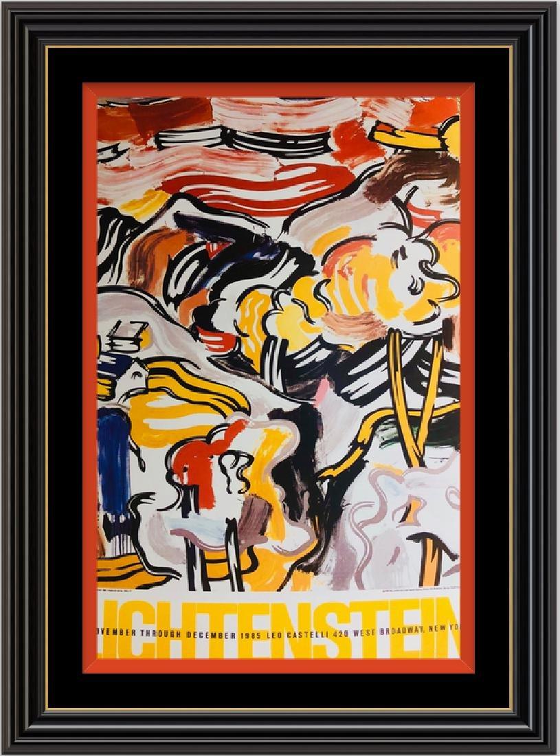 Roy Lichtenstein -Pop Art Silk Poster