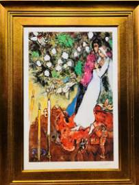 Original Lithograph by Marc Chagall