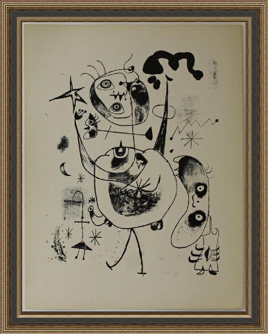 Lithograph XXIII 1944 by Joan Miro