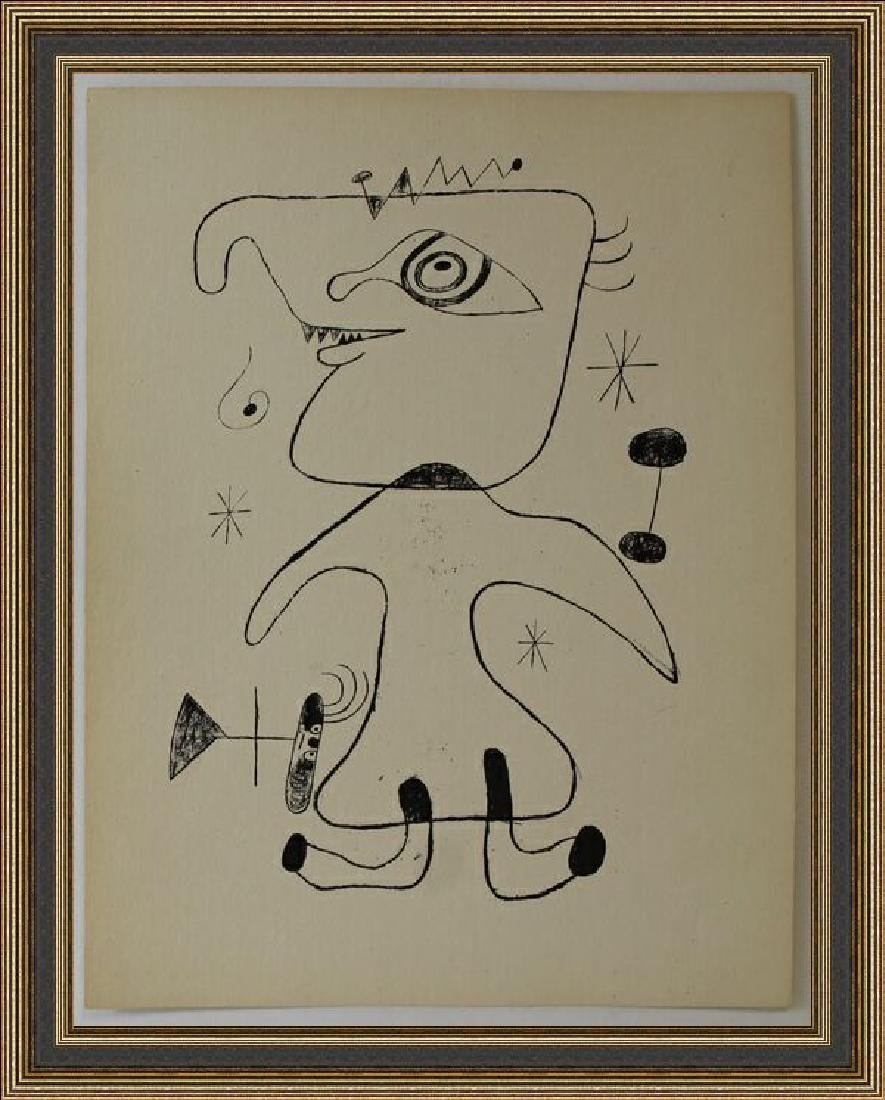 Lithograph XII 1944 by Joan Miro