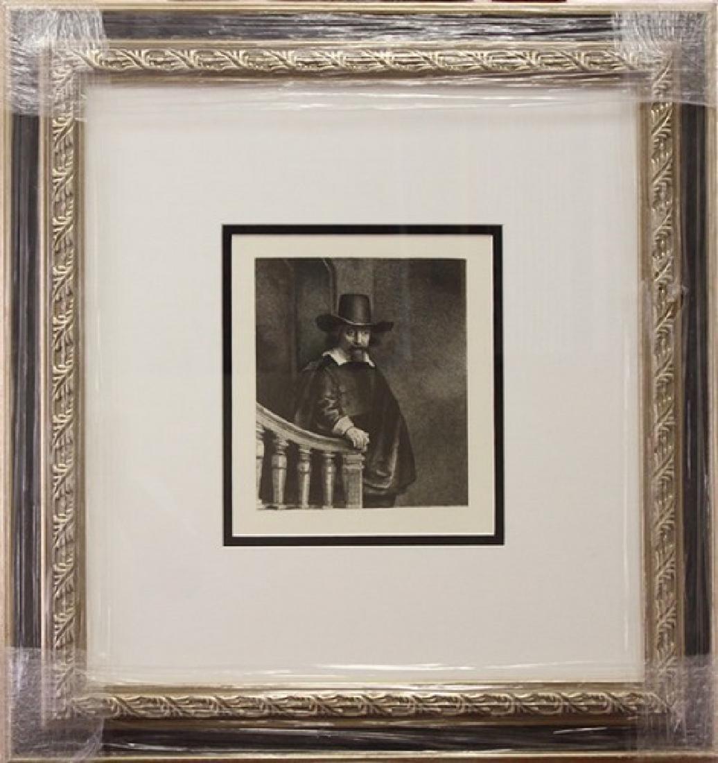 Portrait of Ephraim Bonus - Rembrandt