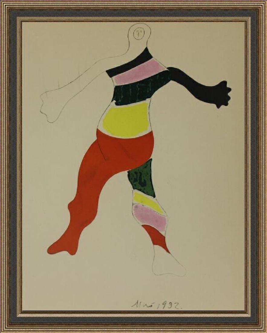 Rare Lithograph by Joan Miro