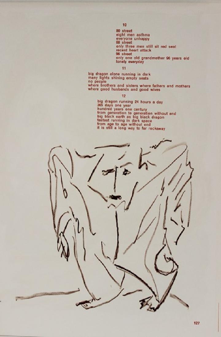 Original Signed Lithograph Karel Appe - 4