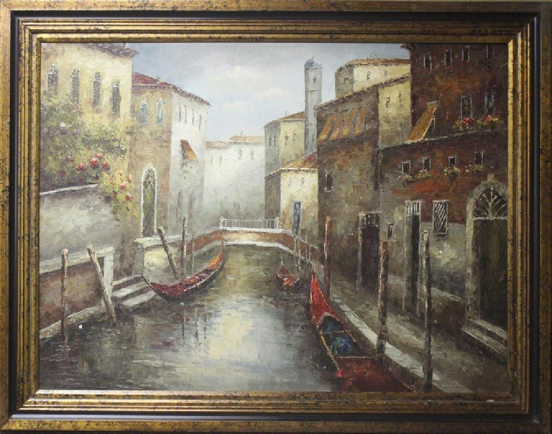 Venice - Original Oil Painting