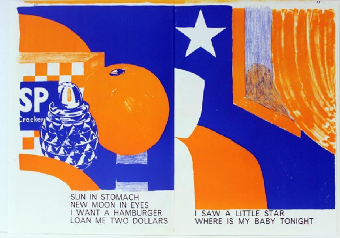 Original Lithographs Karel Appel & Tom Wesselman - 4