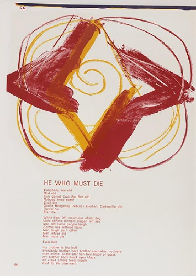 Original Lithographs Karel Appel & Tom Wesselman - 8
