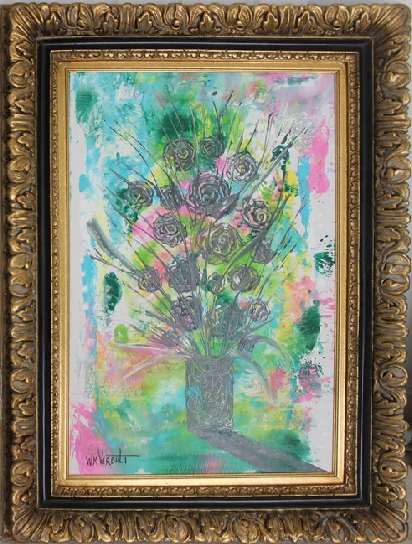 Black Roses - William Verdult 48x36