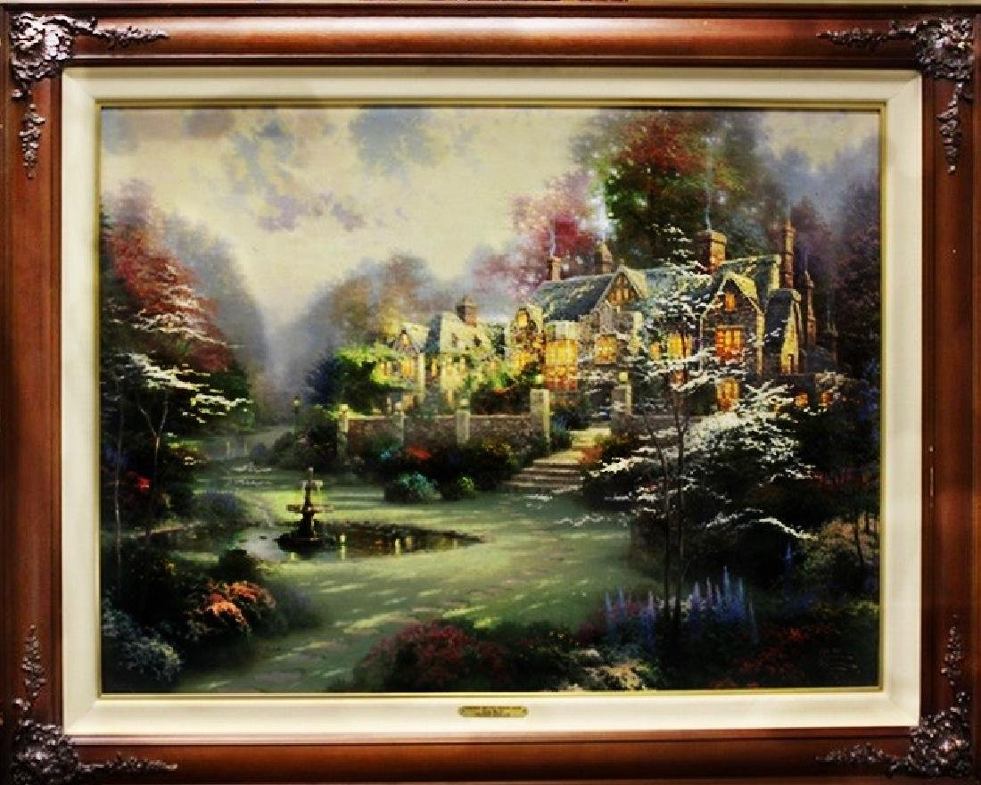 Thomas Kinkade Print on Canvas