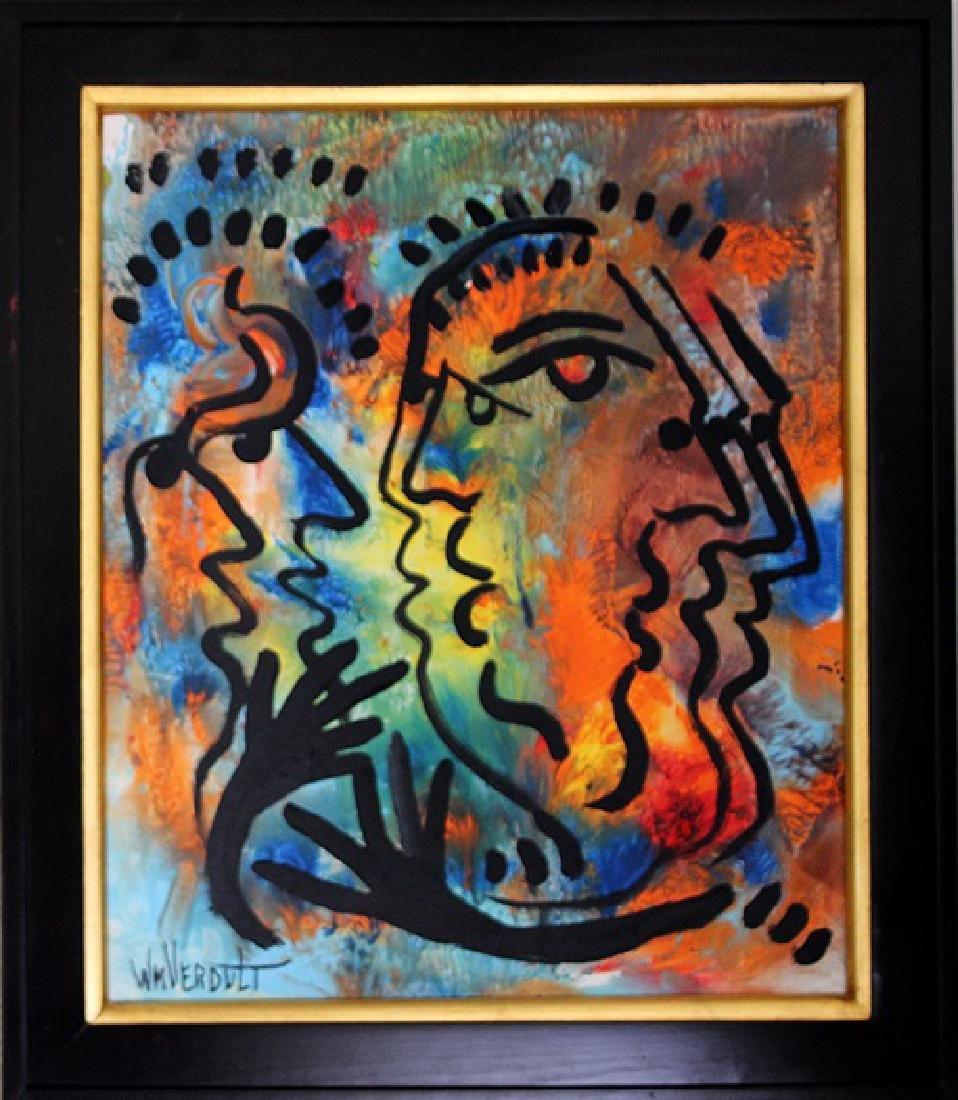 Silent Whisper - Original by William Verdult 30x25