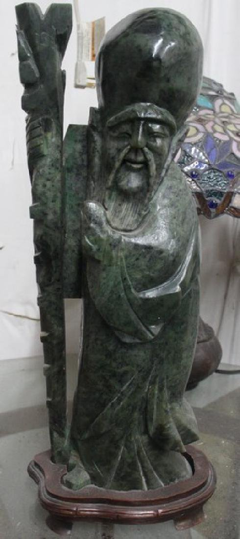 Jade Sculpture - Elder Man