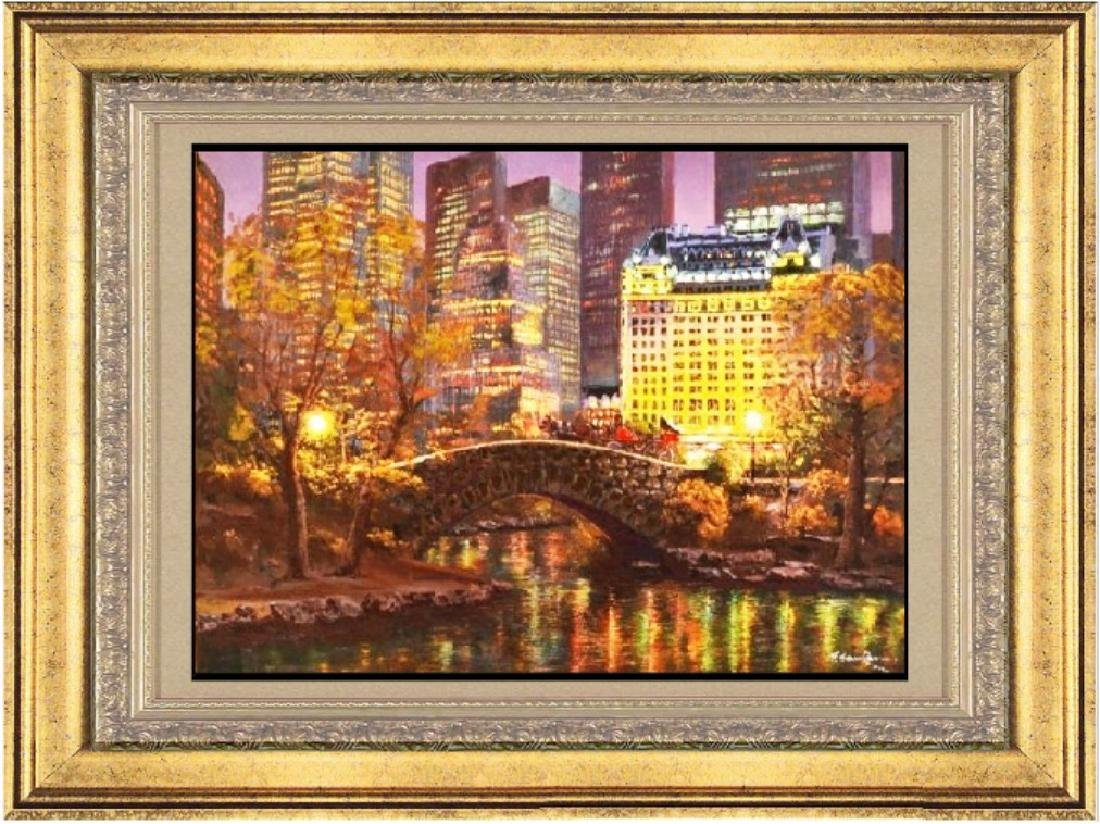 Hand Signed Ltd Ed S. Sam Park - Central Park