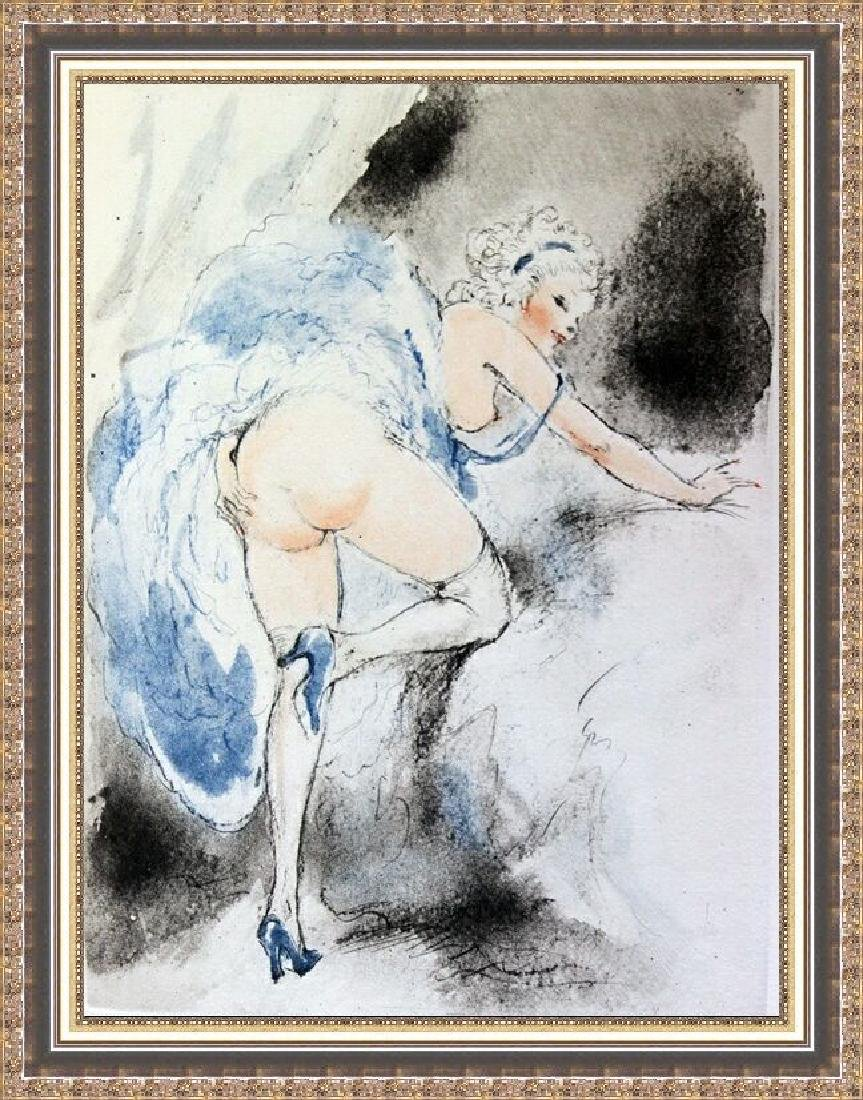 Original Etching Louis Icart - Itching For Love