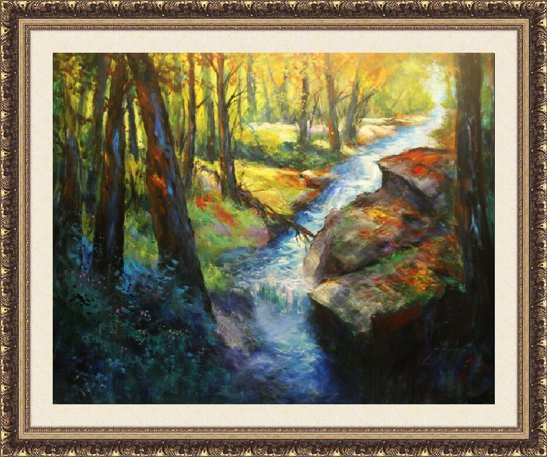 River Rapids by Michael Schofield 48x60