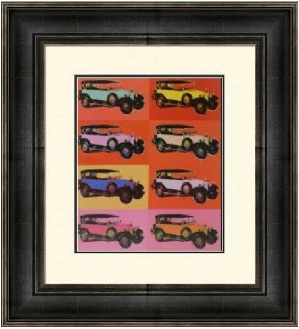 Lithograph by Andy Warhol - Mercedes 400 tourenwagen