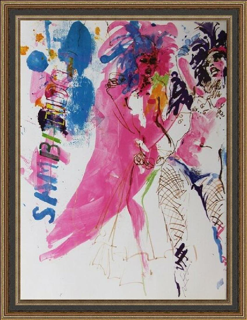 Fine Art Lithograph by LeRoy Neiman